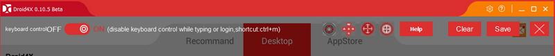 Как настроить клавиатуру в Droid4X